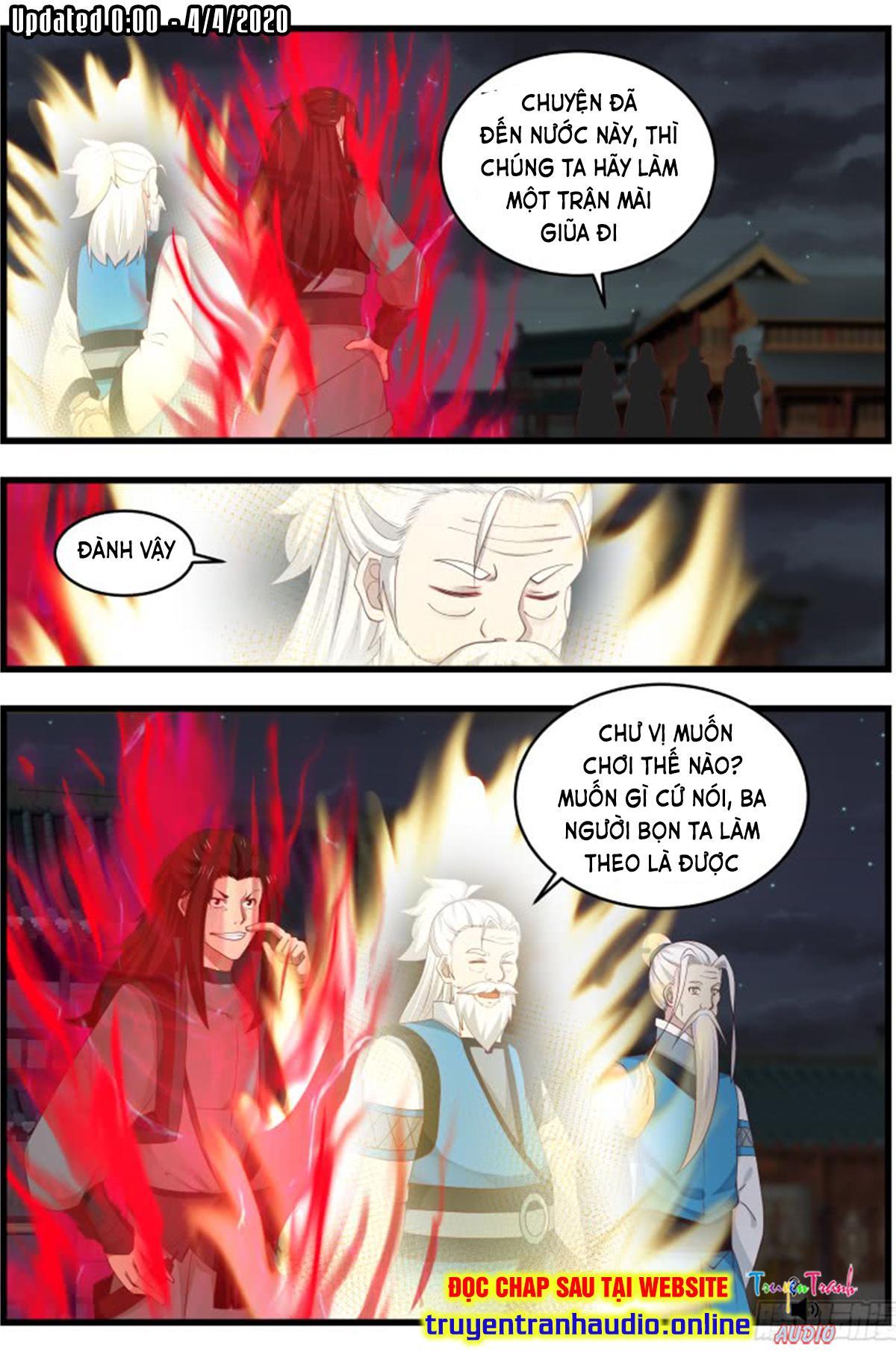 Võ Luyện Đỉnh Phong chap 505 - Trang 12