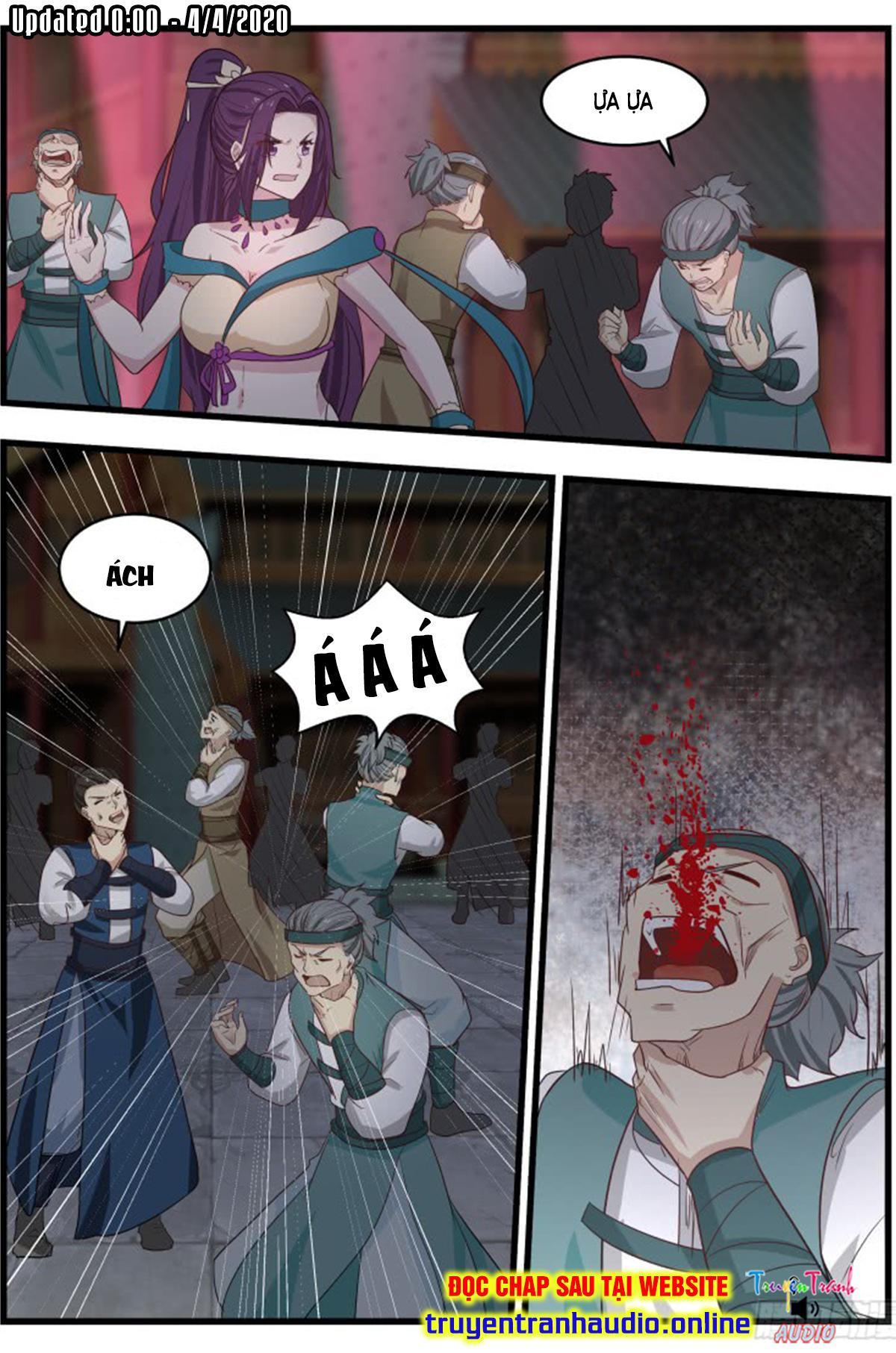 Võ Luyện Đỉnh Phong chap 505 - Trang 4